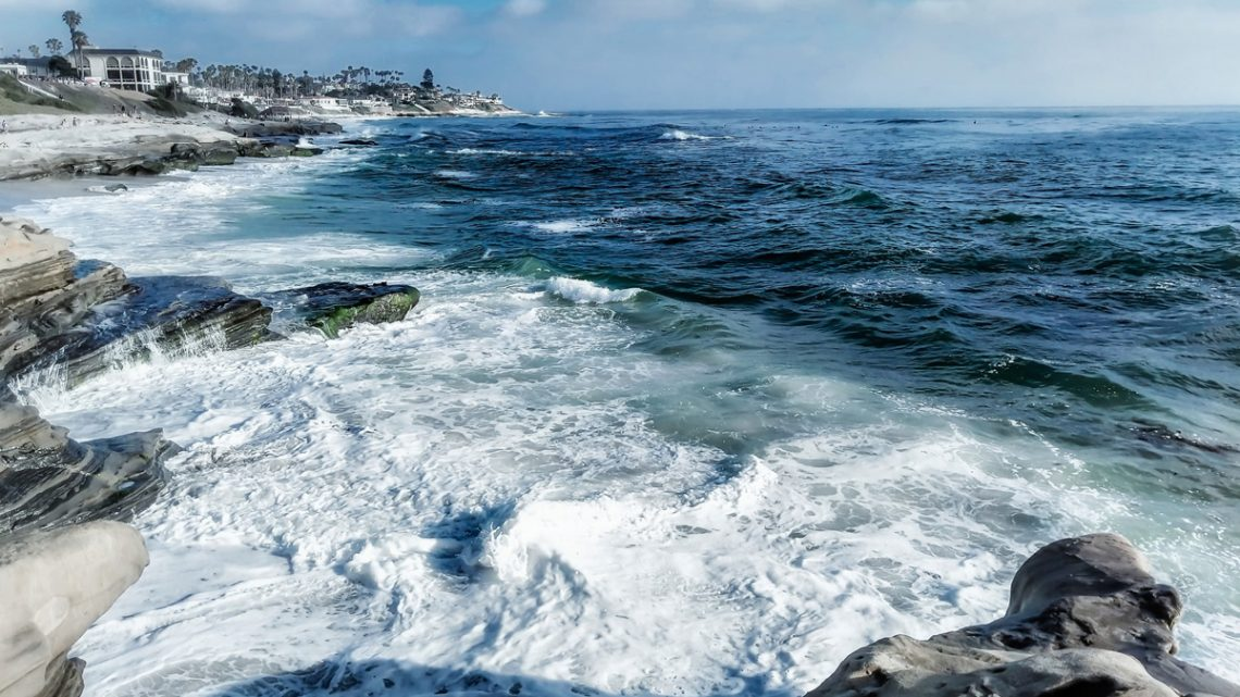 beach in La Jolla, California