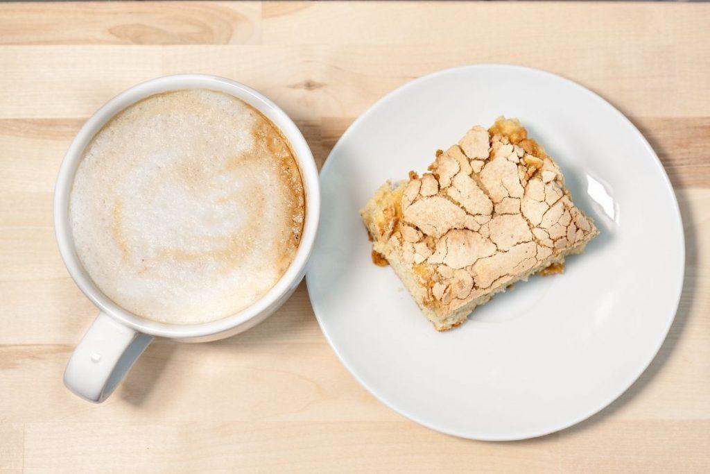 cappuccino at Segafredo cafe