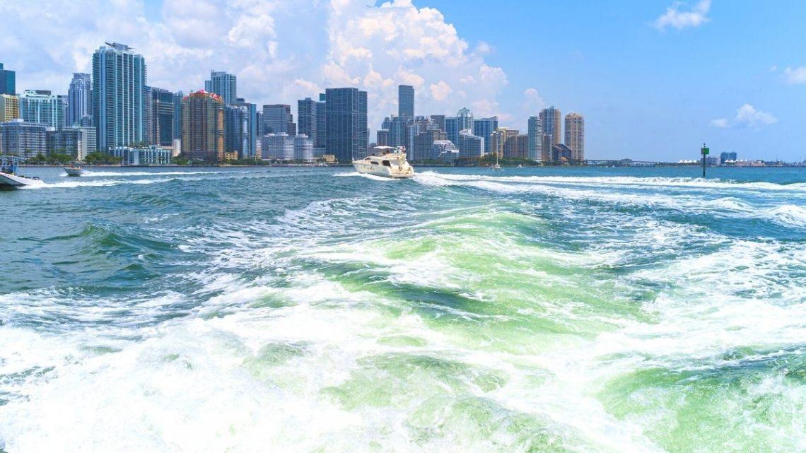 Miami Vice TV Show Opening scene
