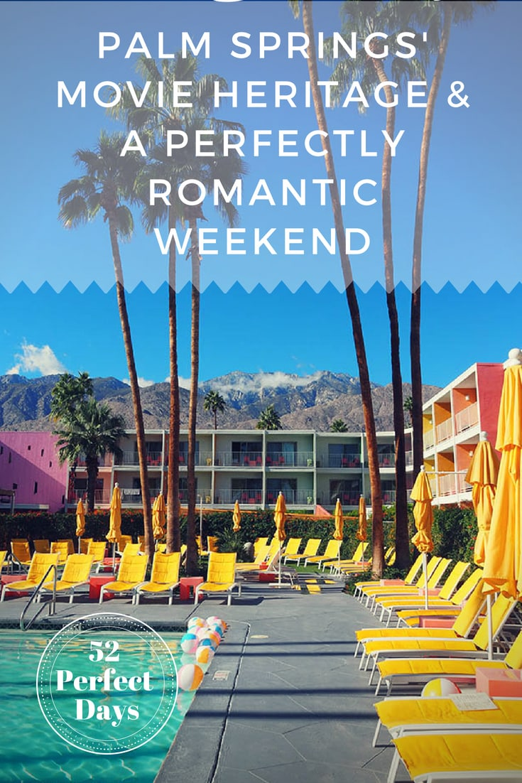 Palm Springs is where Hollywood has come for the last 90+ years and here is how to have a perfectly romantic weekend. #palmsprings #california #USA #romantic #travel