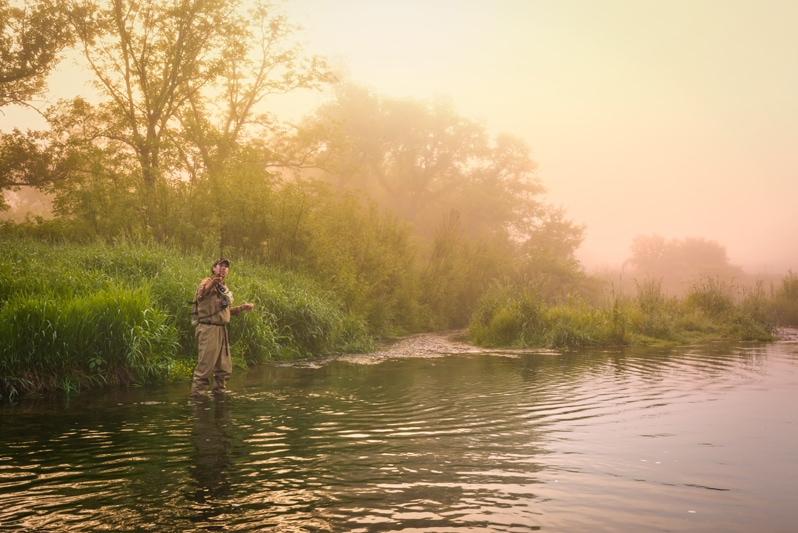Iowa Travel Tips and fly fishing in Iowa