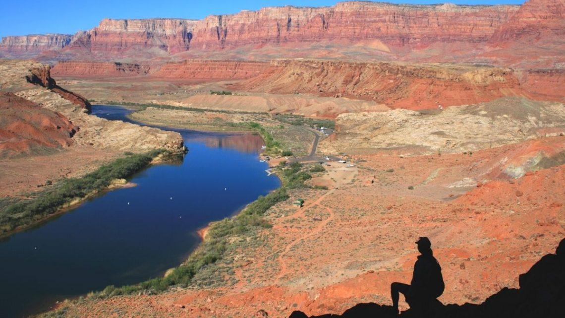 Lees Ferry overlook in Arizona