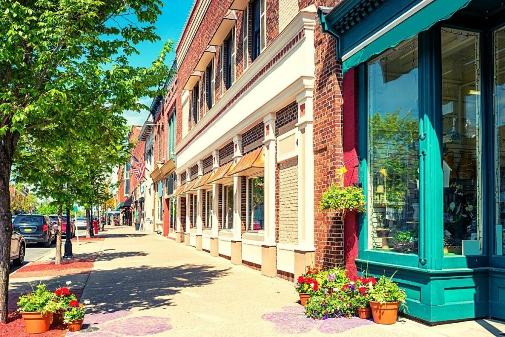Seneca falls main street