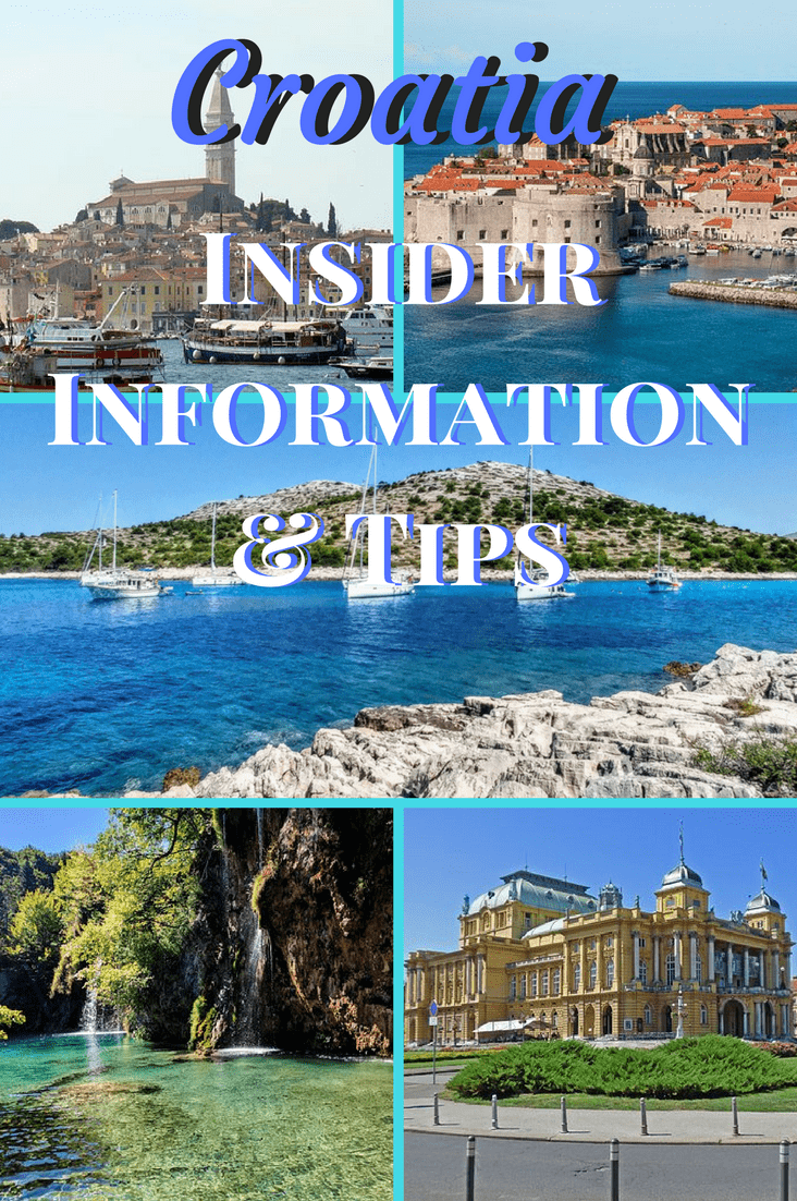 Bordered by the Adriatic Sea, Croatia is a diverse land. With 52 Croatia Travel Tips, you have so many options for sun and fun. #croatia #travel #europe