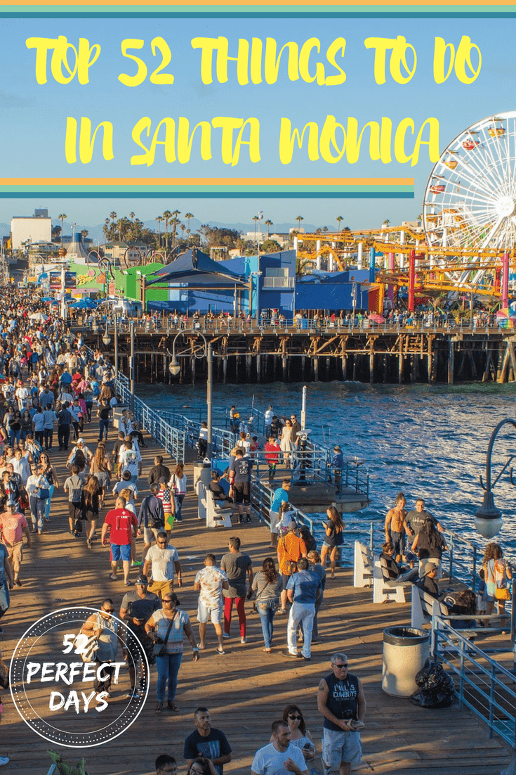 Santa Monica Beach and Pier is the most popular tourist sight-seeing location in the world. Boasting 3-miles of coastline, mountain views & walking paths. #santamonica #beach #coast #california #travel #USA