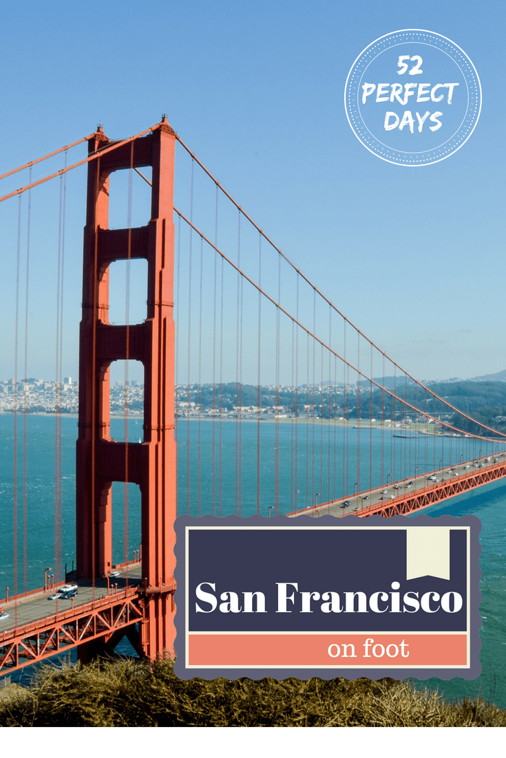 Explore a beautiful day in San Francisco on Foot. Walk your way through a bit of history and stop by great spots for drinks and food with a full day walking tour and Itinerary with great hot spots. San Francisco on Foot is the best way to explore the city. #travel #sanfrancisco #california