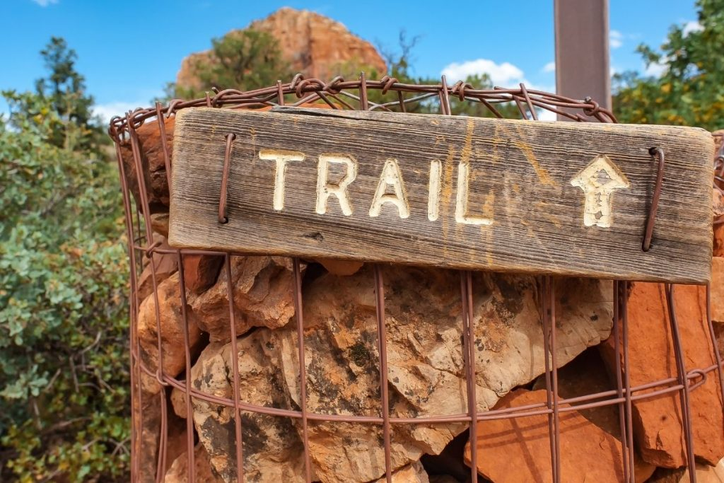 hiking trails in the Coconino National Forest