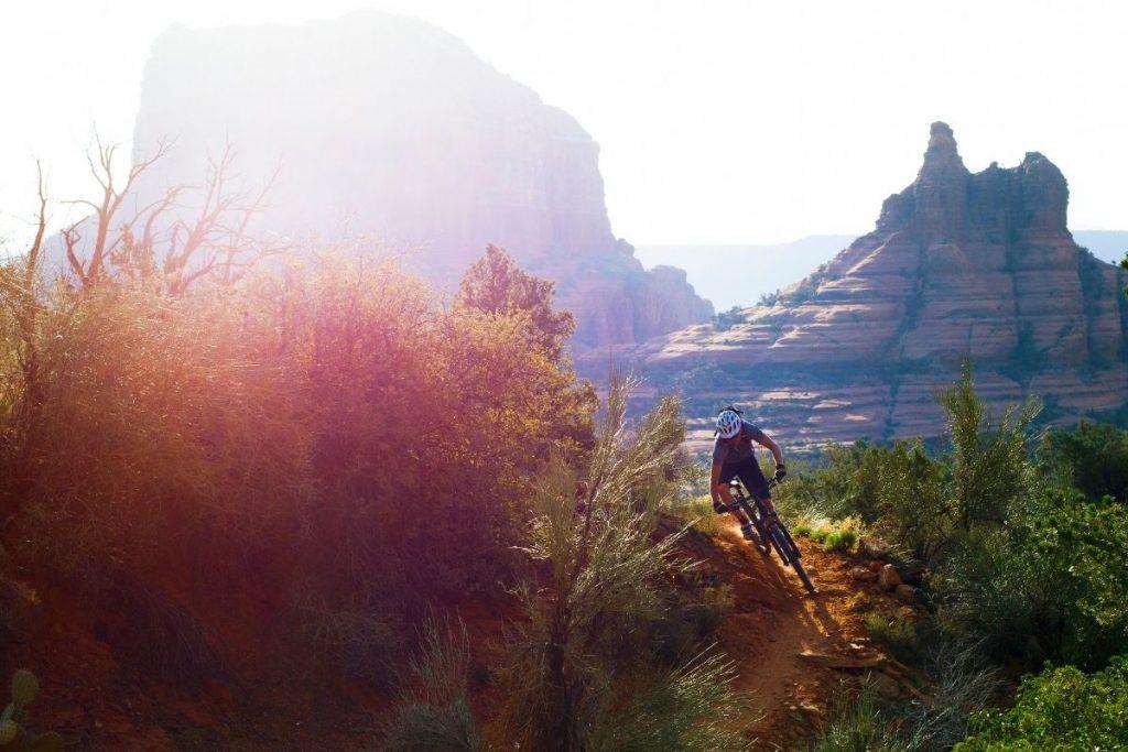 mountain bike in Sedona