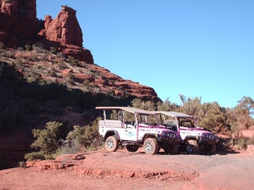 Sedona Pink Jeep trip in Sedona