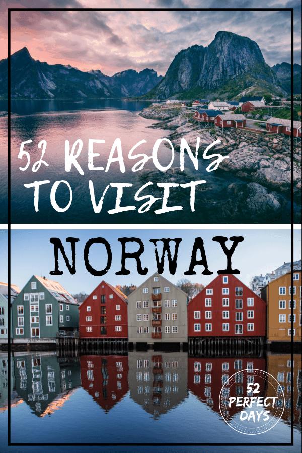 52 Reasons to Visit Norway