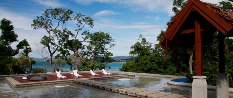Sri Panwa Resort plunge pool