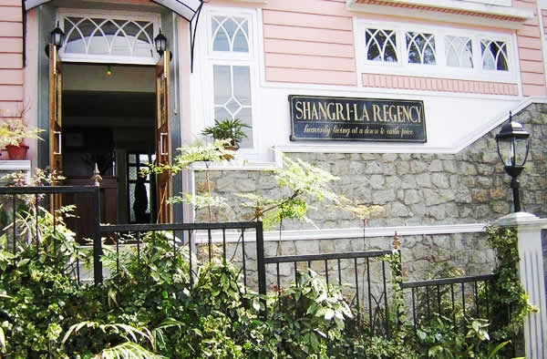 Shangri-la Regency in Darjeeling, India