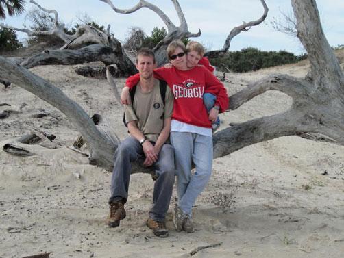beach at Cumberland Island