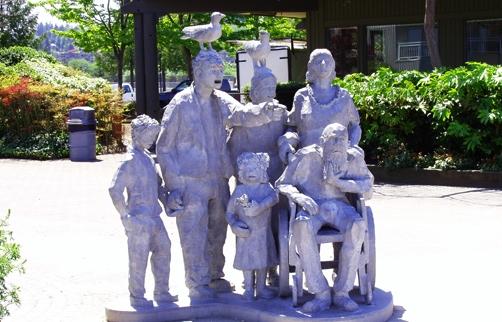 Edmonds-Statue