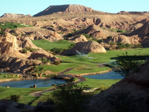 Las Vegas wolfcreek golf course