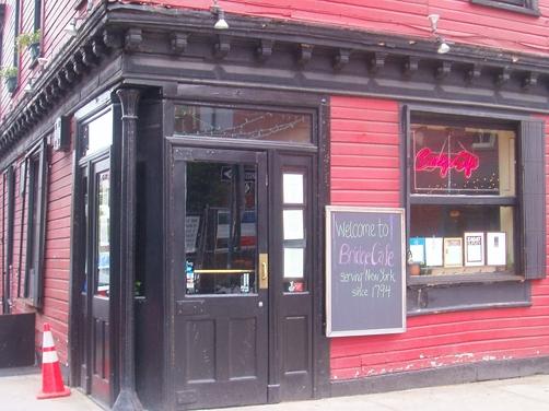 Bridge Cafe in New York