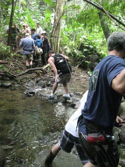 hike in Oahu