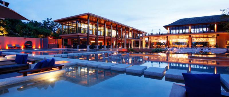 Sri Panwa Resort pool in Thailand