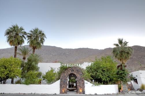 The Korakia Pensione in Palm Springs