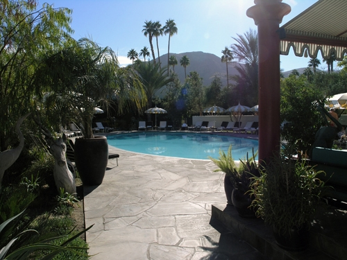 Parker Palm Springs Pool