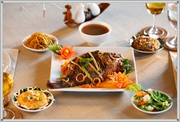 Shwe Inn Tha breakfast