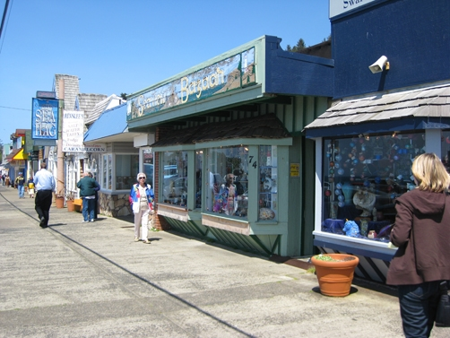 Depoe Bay main street