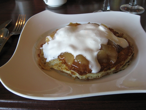 French toast at Harbor Lights Inn in Depoe Bay