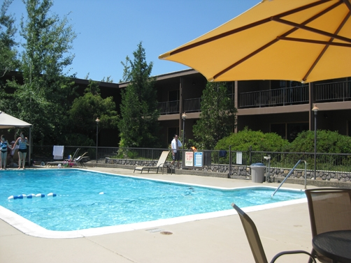 Pool at the Riverside Lodge in Grants Pass
