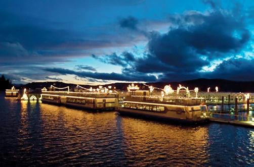 Coeur d'Alene After Dark boat ride