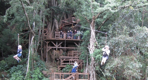 Kipu Zipline Safari