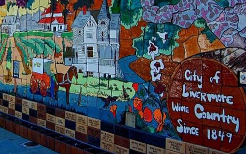 Livermore, California Mural