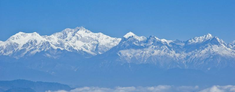 Darjeeling, India mountains