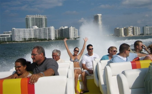 Thriller Boat Tours at Bayside Marketplace