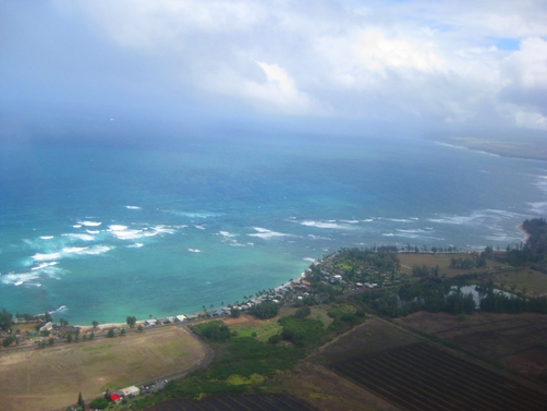 View of Oahu Shore