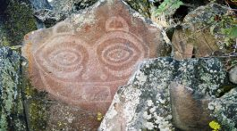 Petroglyphs in Portland, Oregon