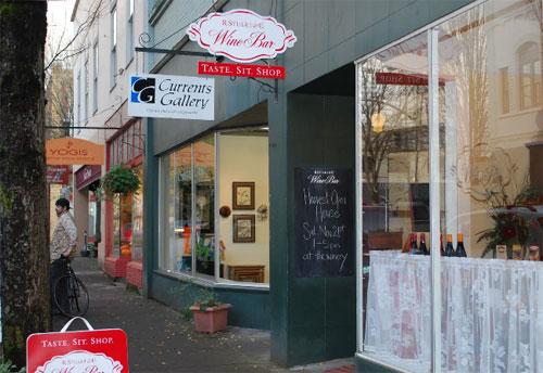 Food and Wine on Oregon's Favorite Main Street