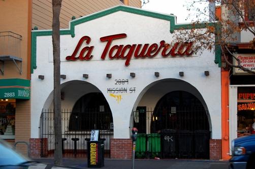La Taqueria in the Mission SF
