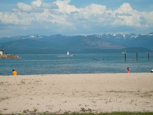 Summer in Sandpoint, Idaho