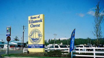 Tillamook cheese factory in Oregon