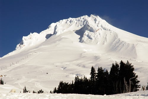 Timberline mountain in Mt Hood, Oregon