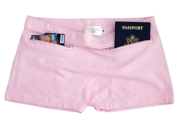Pick pocket-proof underwear