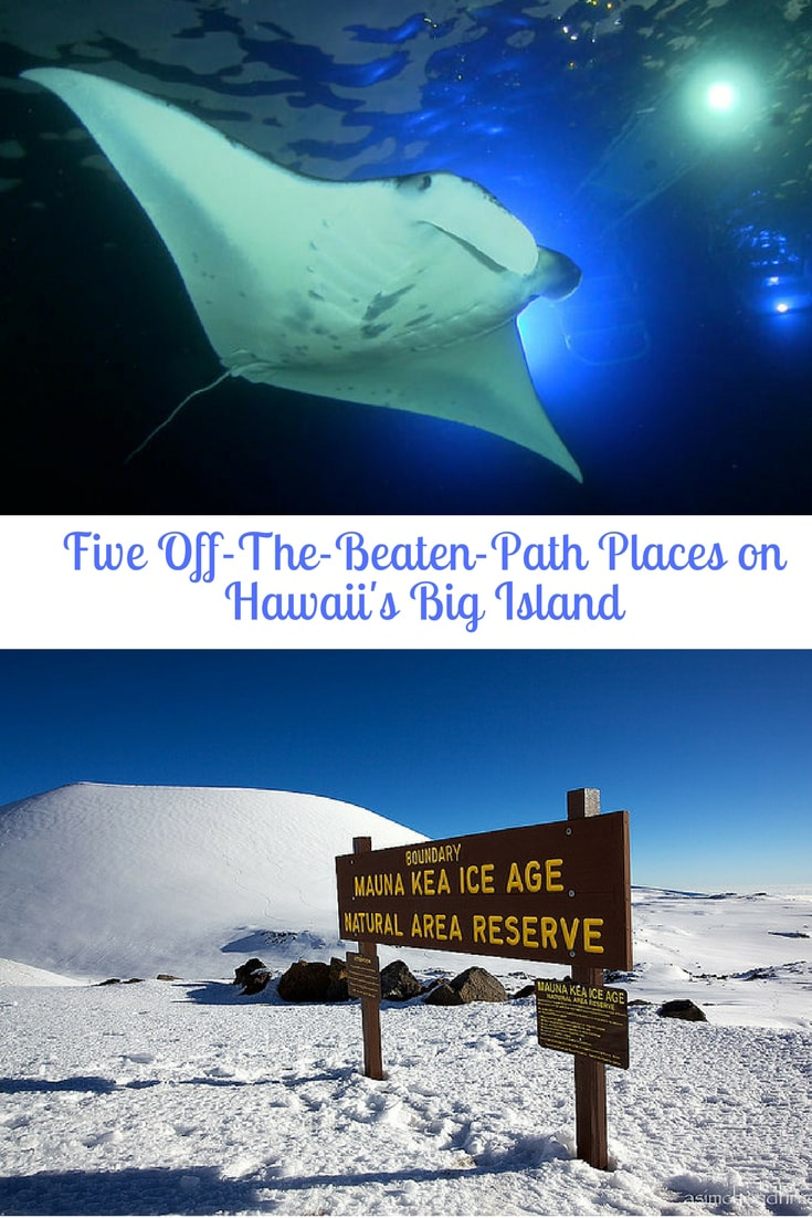 We've searched for the top five off-the-beaten path Hawaii adventures not to be missed on the Big Island. With eleven different climate zones that create everything from lush rain forests to arid deserts and black sand beaches to snow-capped mountaintops, the Big Island is Hawaii's playground. #hawaii #adventures #USA #travel