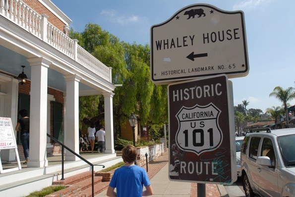 Whaley House in old town, San Diego