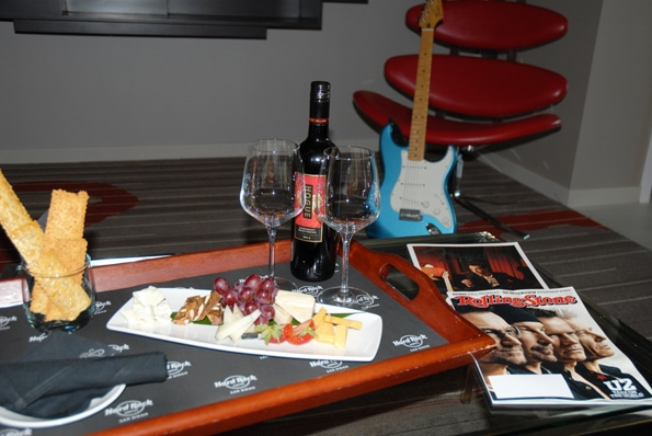 Hard Rock Hotel San Diego room service
