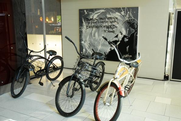 bike rental at Hard Rock Hotel San Diego