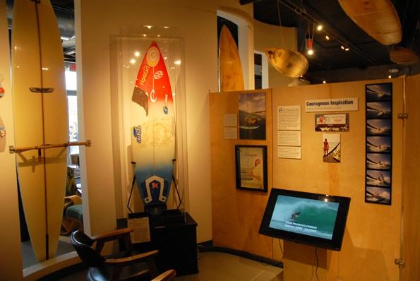 Bethany Hamilton, Oceanside Surf Museum