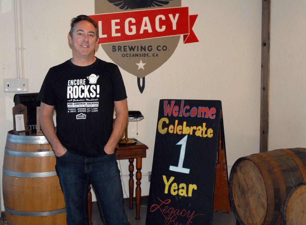 Legacy Brewing Company, Oceanside, California