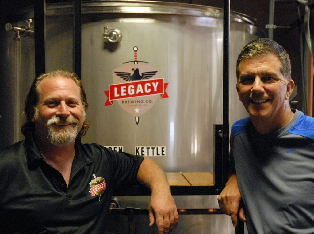 Legacy Brewing Company, Oceanside, California