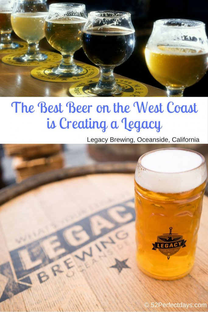 Legacy Brewing Oceanside is the Best Beer on the West Coast. This Oceanside Brewery Creating is brewing some of California's best beer.