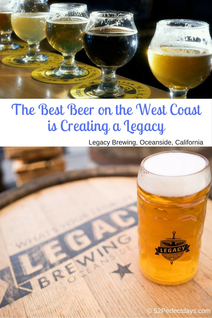 Legacy Brewing Oceanside is the Best Beer on the West Coast. Come check out California's best brewery located in Oceanside. #legacybrewing #bestbeer #westcoast #california #sandiego #USA #travel